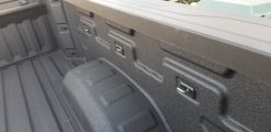 Bullring Retractable Bullet Tie-Down Anchors - on 2019 Chevy Silverado Truck Bed