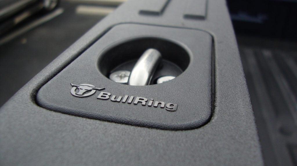 New Bull Ring Tie Down in Misaligned Ford Truck Rail