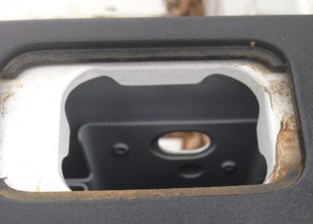 Image of Ford Truck Misaligned Rail Cap