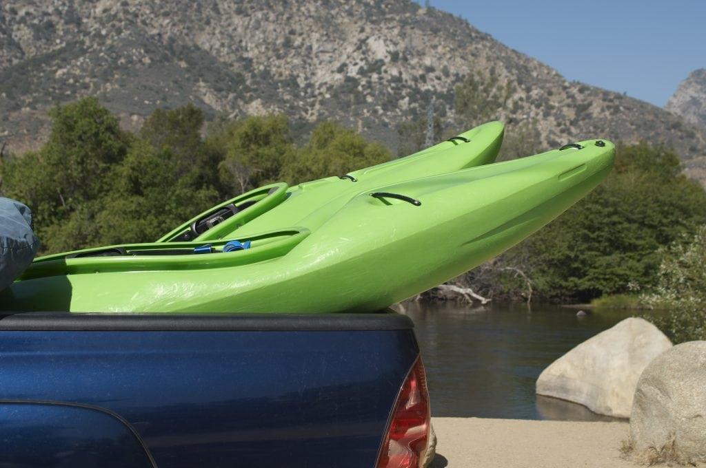 tie down a kayak