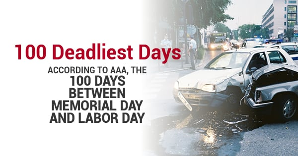 100 Deadliest Days: How To Make The Road A Safer Place This Summer