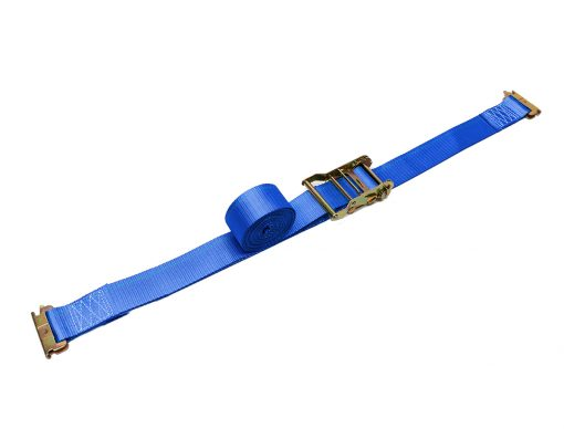 """BullRing 2"""" x 20' Ratchet Tie-Down with E-Tracks Ends for Ford Trucks"""