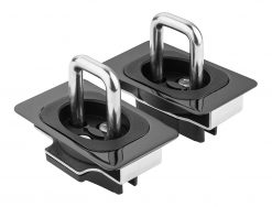 BullRing Retractable Truck Bed Tie Down Anchors for 2013 and newer Chevy Silverado and GMC Sierra